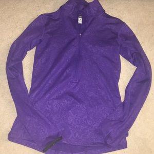 Nike Purple Half Zip